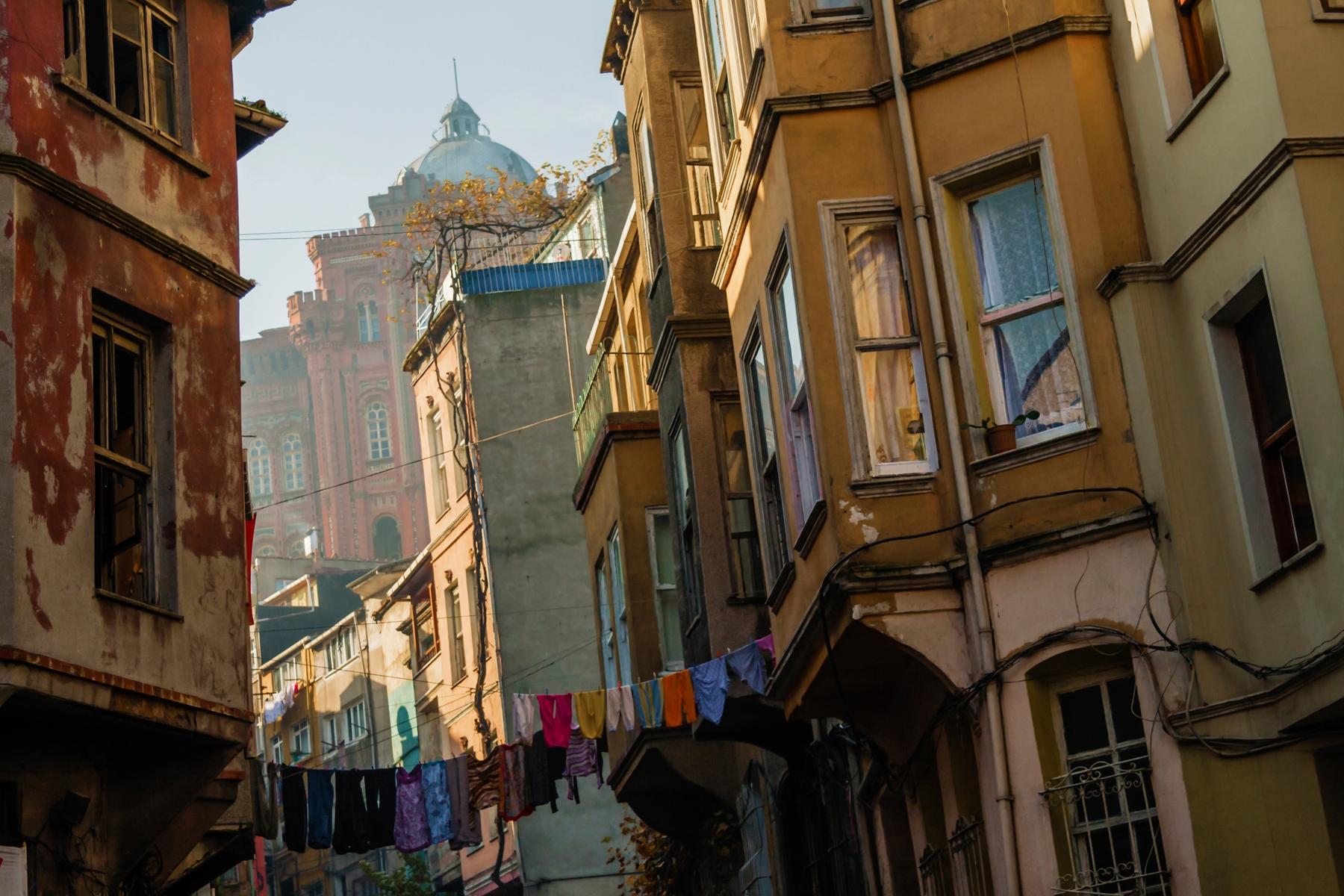 Необычные достопримечательности Стамбула: район Балат