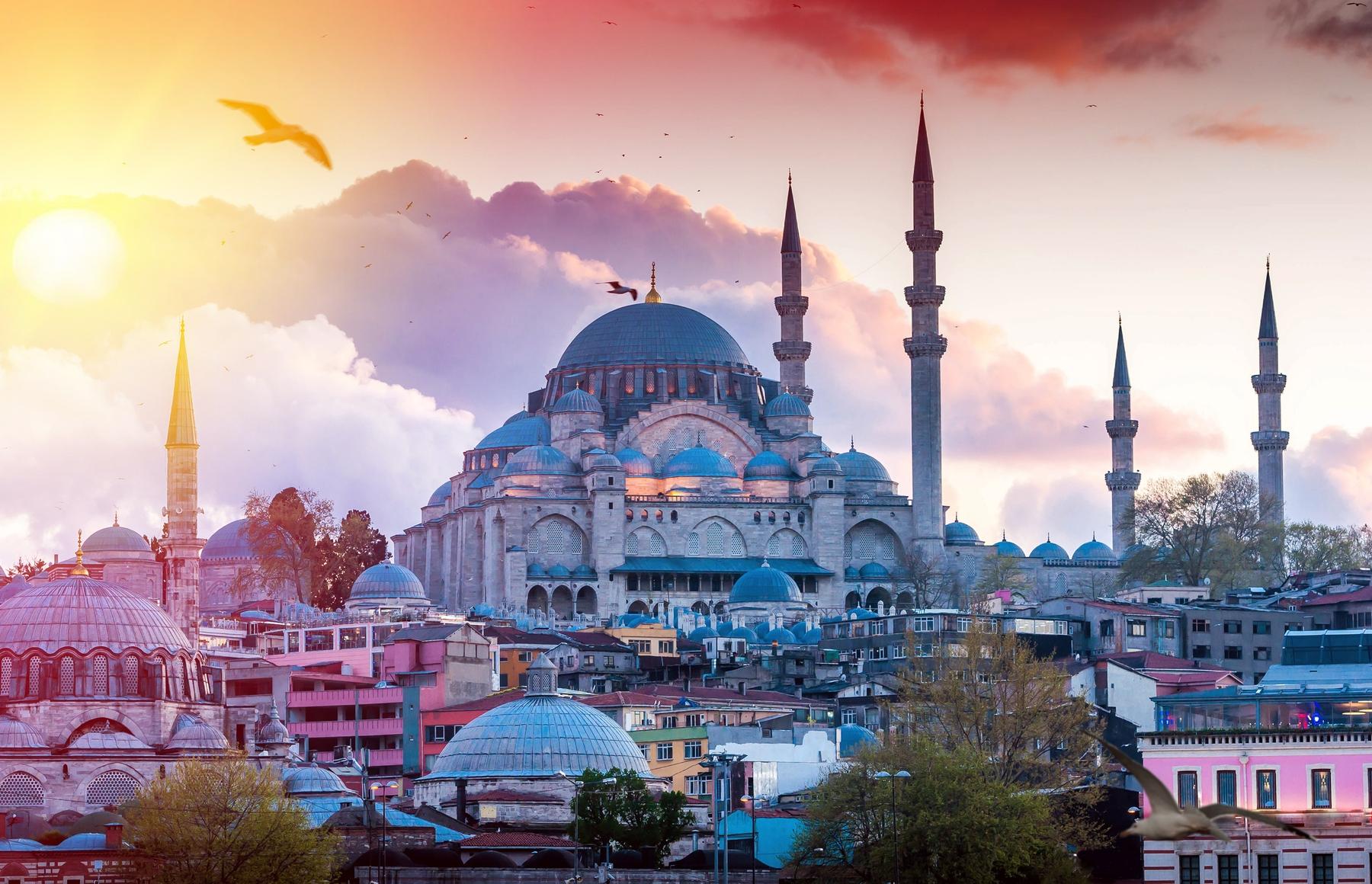 トルコ・イスタンブールの旧市街