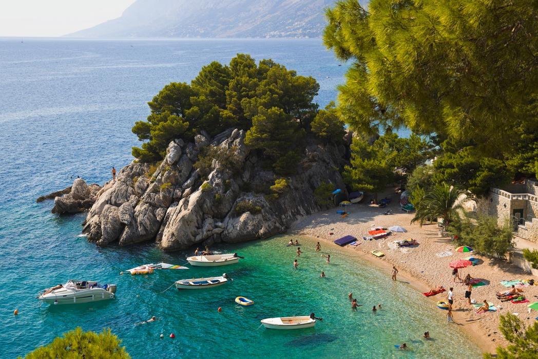 Bay in Split, Croatia