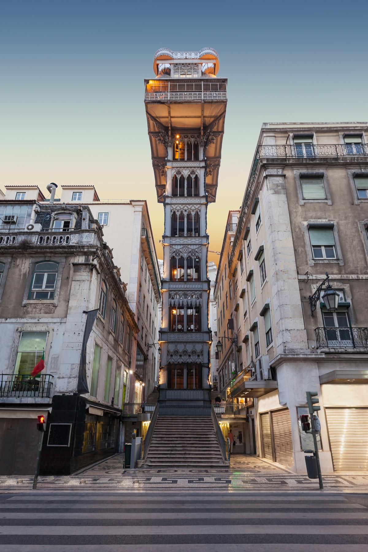 Elevador de Santa Justa - Sehenswürdigkeiten in Lissabon