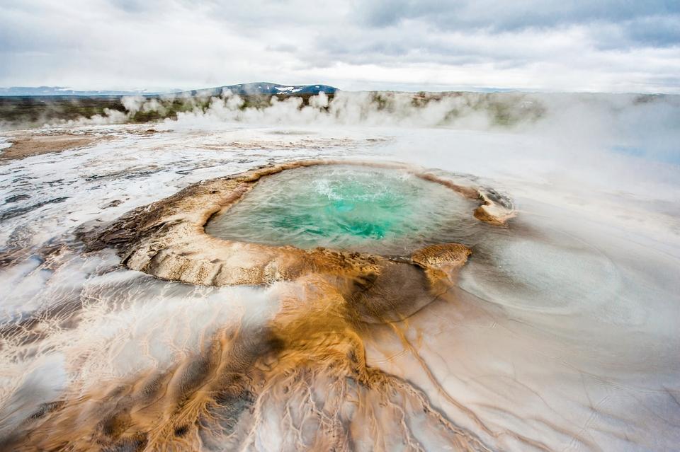 Die 20 spektakulärsten Wunder der Natur: Heiße Quellen in Island