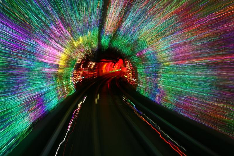 外灘(バンド)観光トンネル