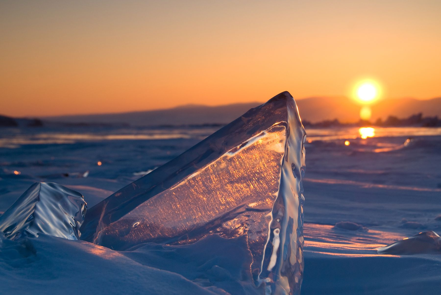 Отпуск зимой на Байкале: найти авиабилеты