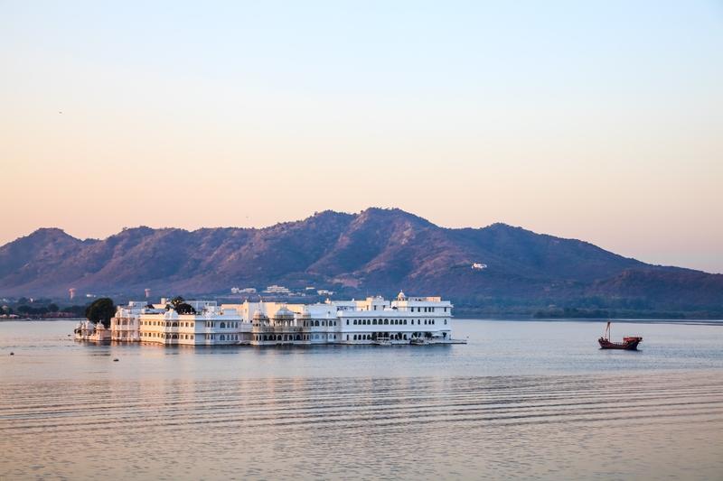 Viaggio in India, Rajasthan: Lake Palace Hotel