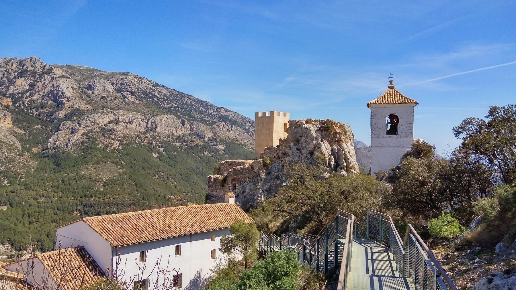 Guadalest es una escapa rural perfecta para huir de la civilización