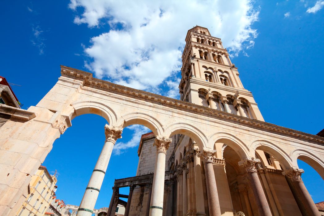 St. Duje, one of the top attractions in Split, Croatia