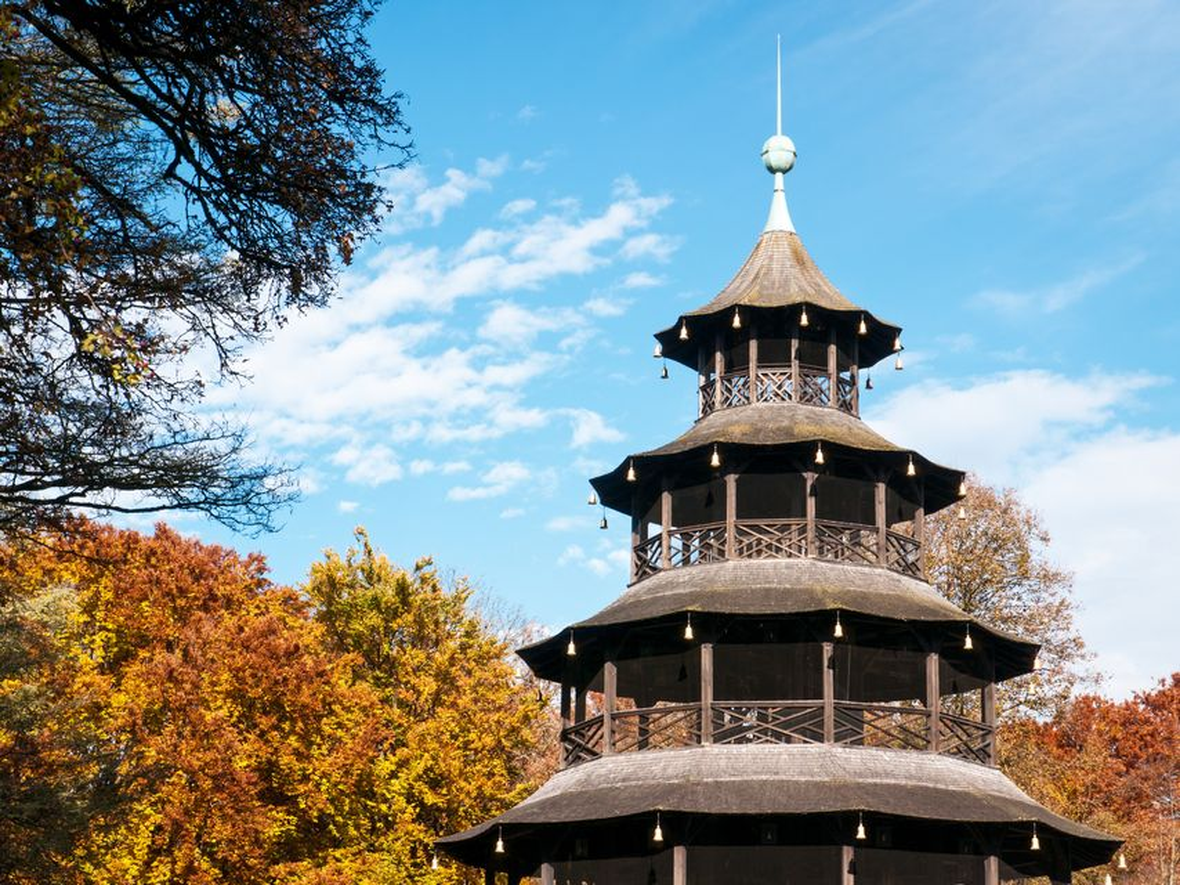 Το πάρκο Englischer Garten στο Μόναχο  - τοπ 20 φθινοπωρινοί προορισμοί