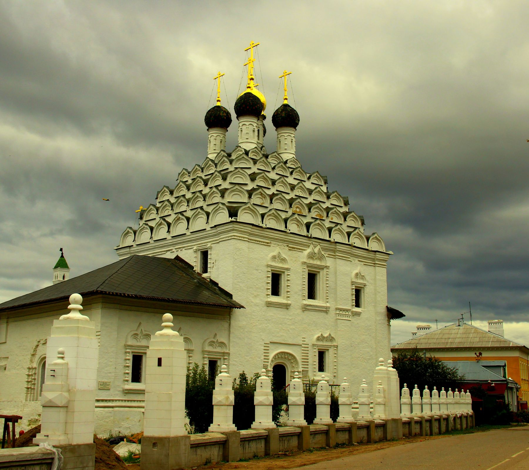 Храм Николы на Посаде — одна из старейших церквей в Коломне