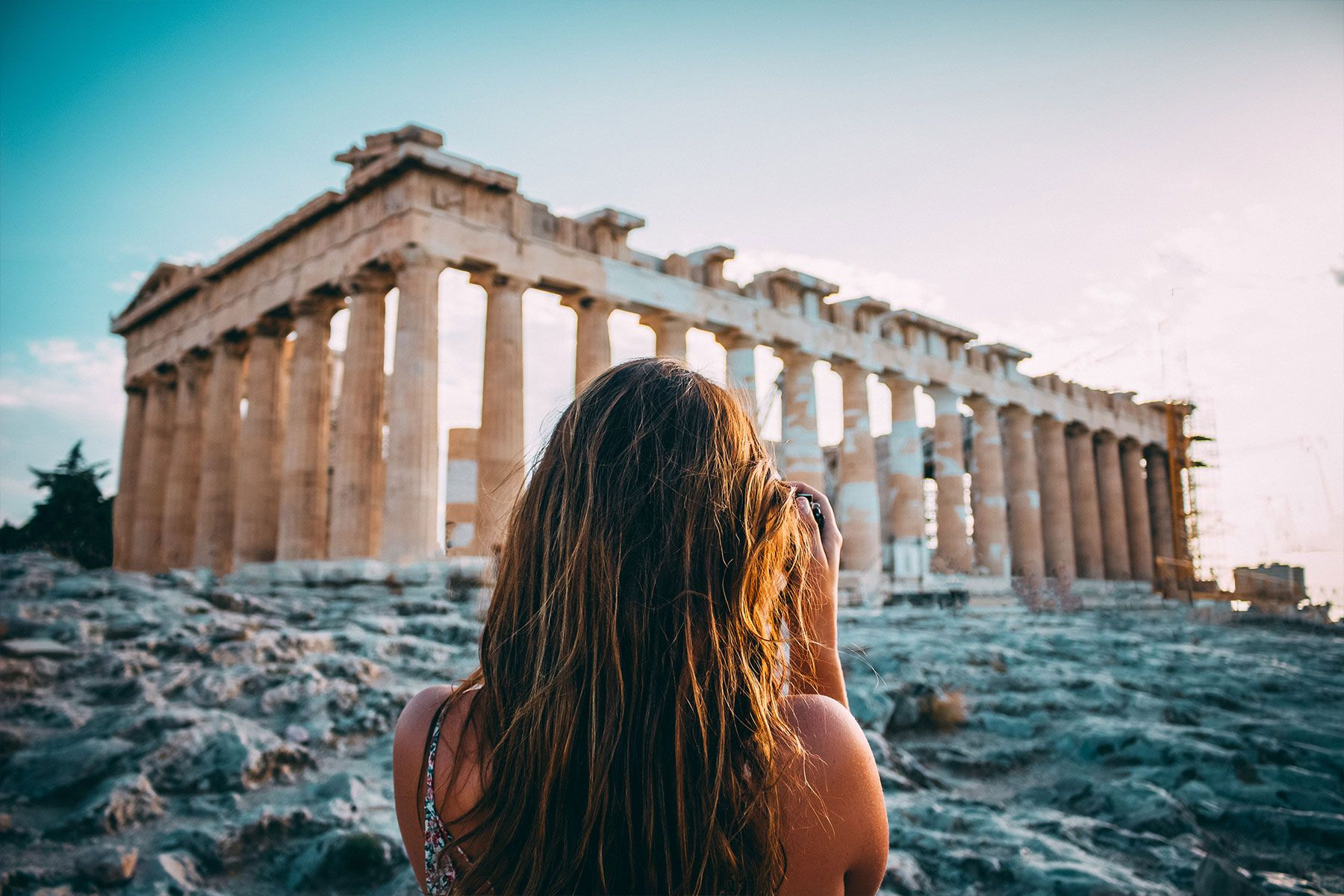 Athens is a great destination for a holiday in March