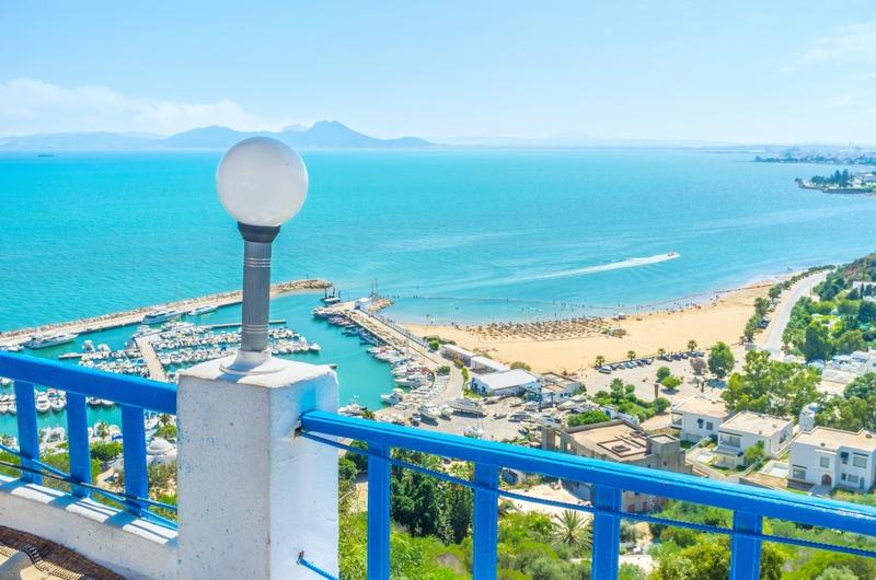 Beach view, Tunisia