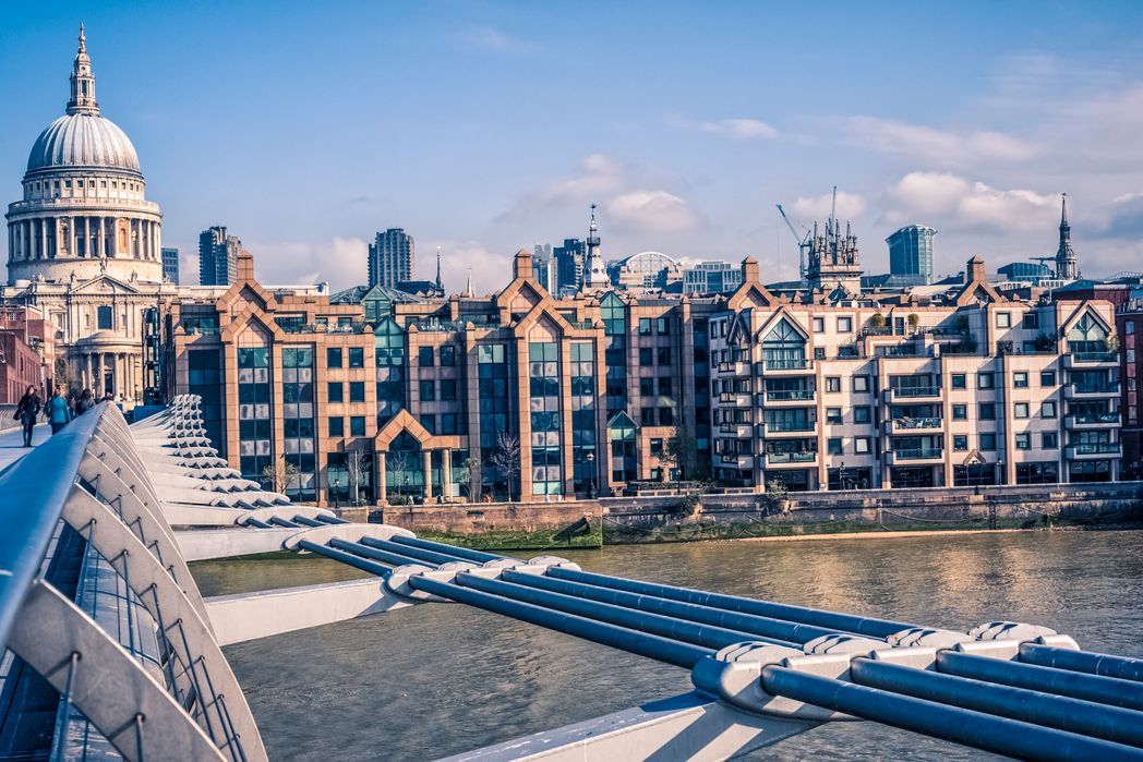 Hλιόλουστο το Λονδίνο την άνοιξη - ταξίδι το Πάσχα στην Ευρώπη