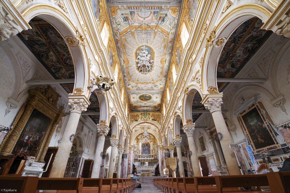 マテーラ 大聖堂 天井画