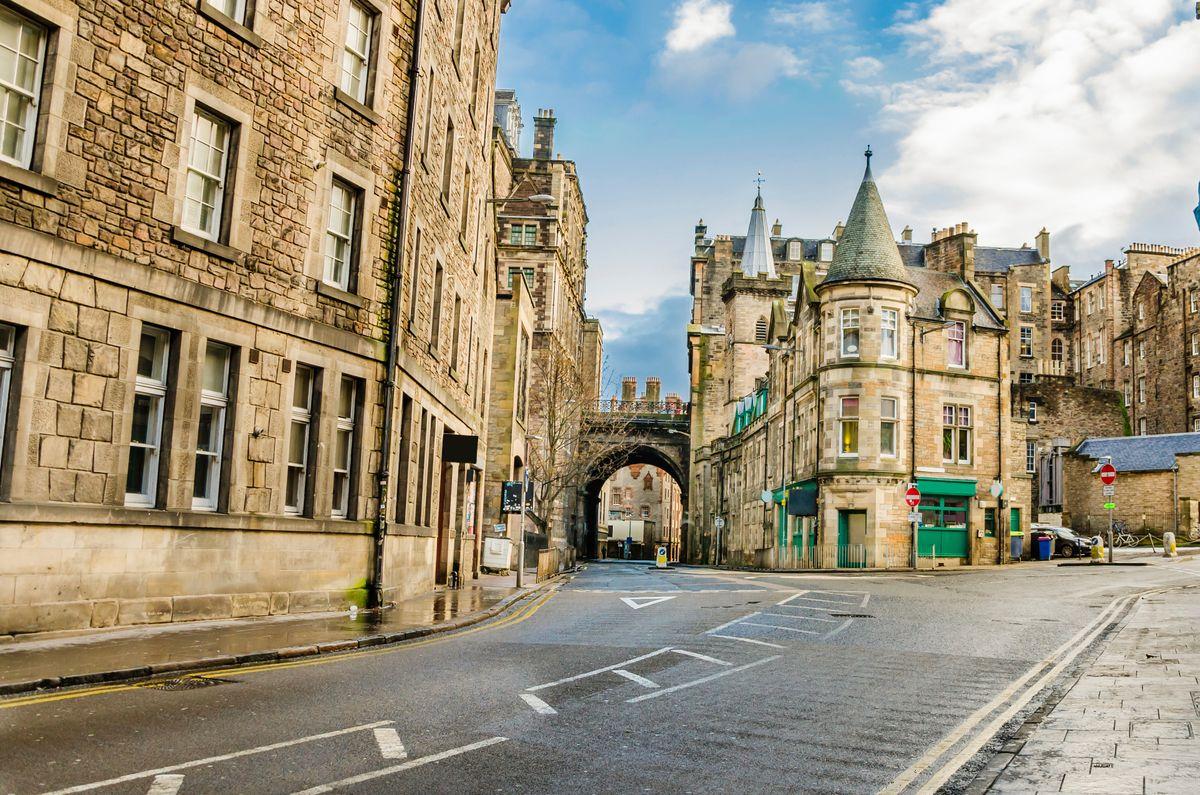 Ιστορικός δρόμος στο Εδιμβούργο - τοπ 20 φθινοπωρινοί προορισμοί