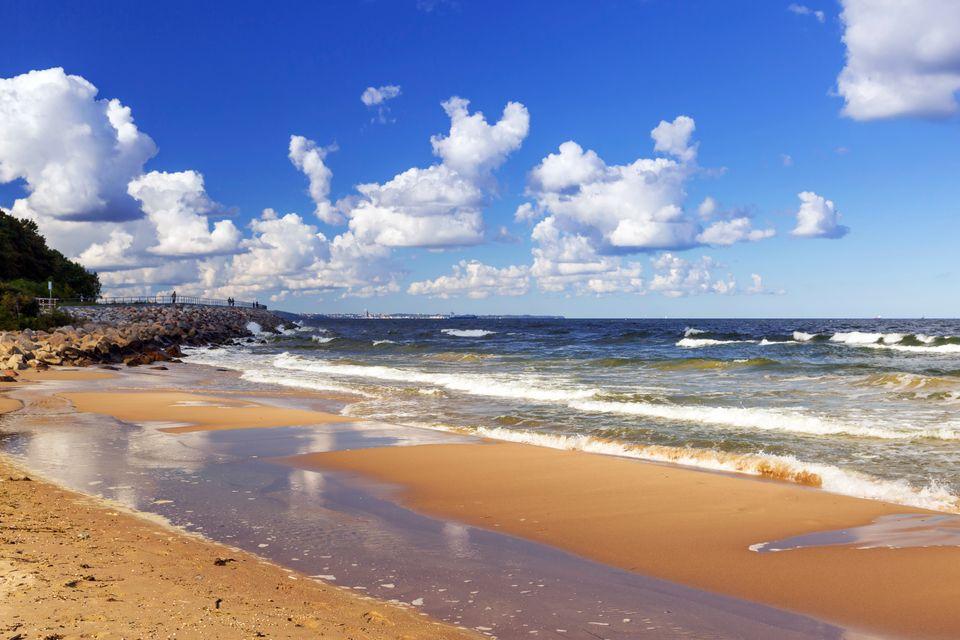 Nieśpieszny urlop na wschodnich plażach Bałtyku