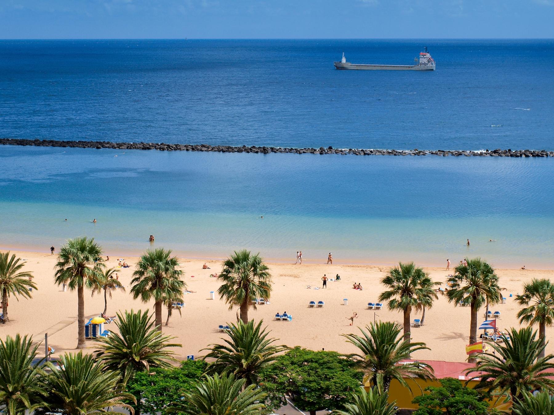 Beach in Tenerife -