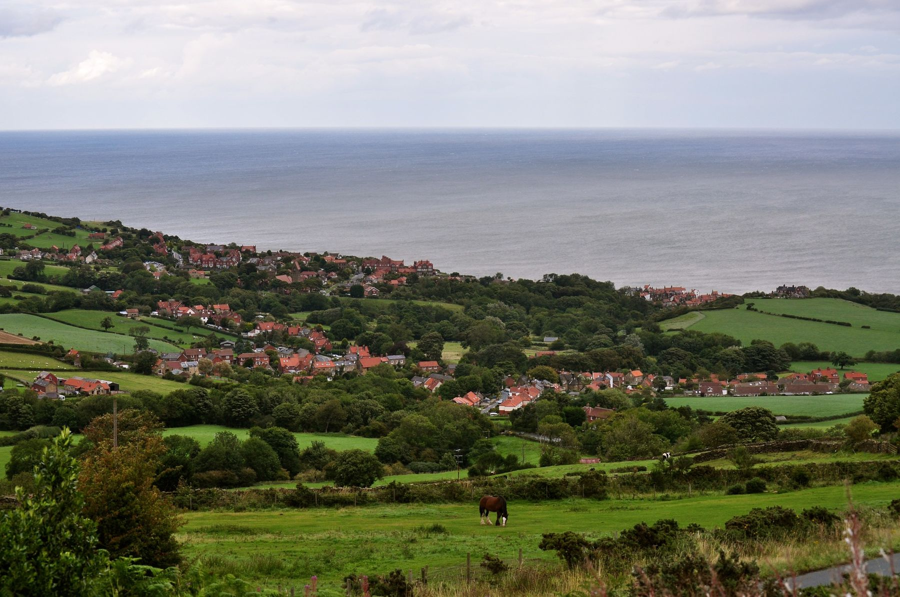 Robin Hood's Bay is one of the prettiest villages in England, in North Yorkshire
