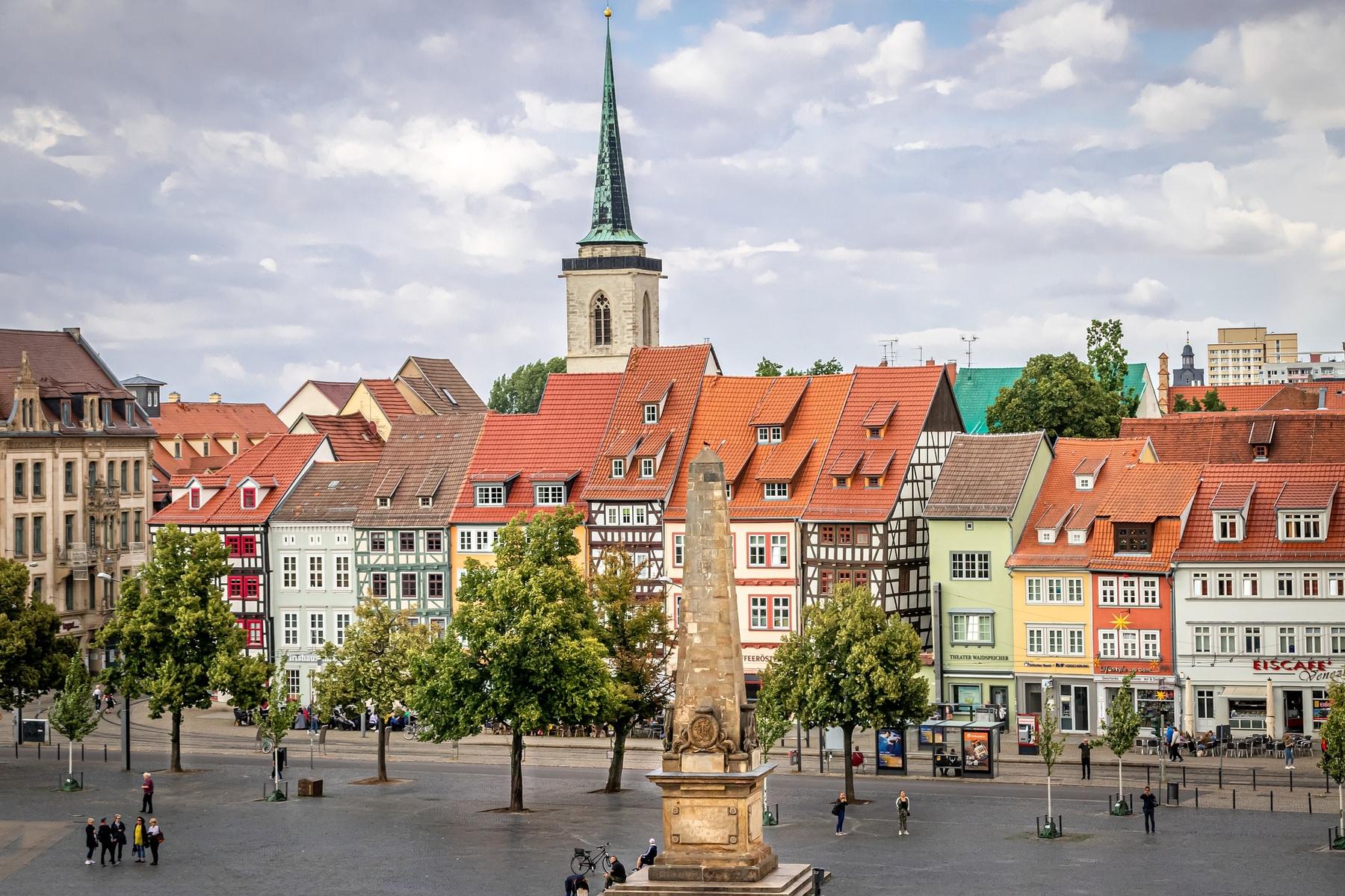 Erfurt gehört zu den schönsten Städten in Deutschland