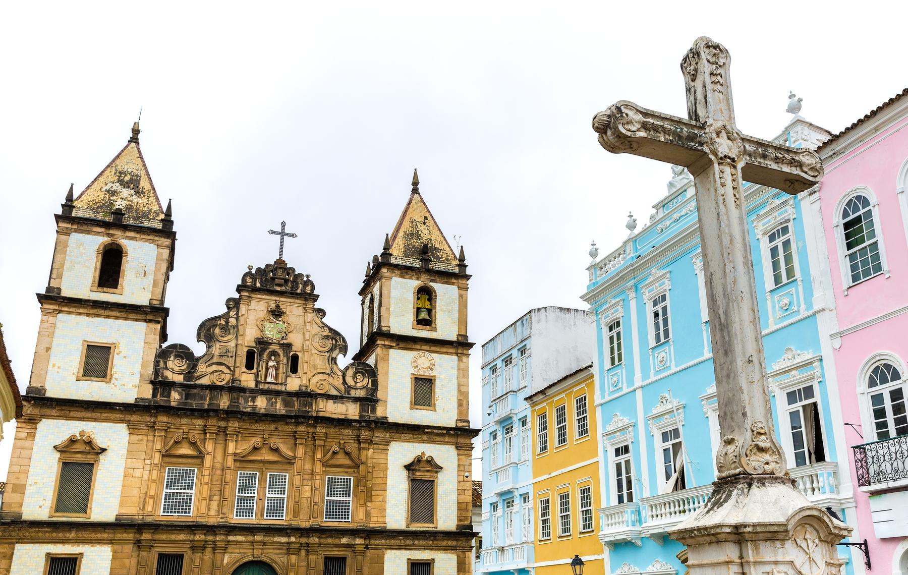 Pelourinho, em Salvador, na Bahia.