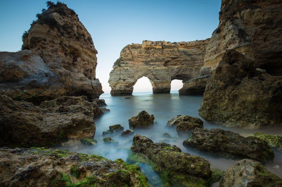 Praia da Marinha is one of the Algarve's best beaches