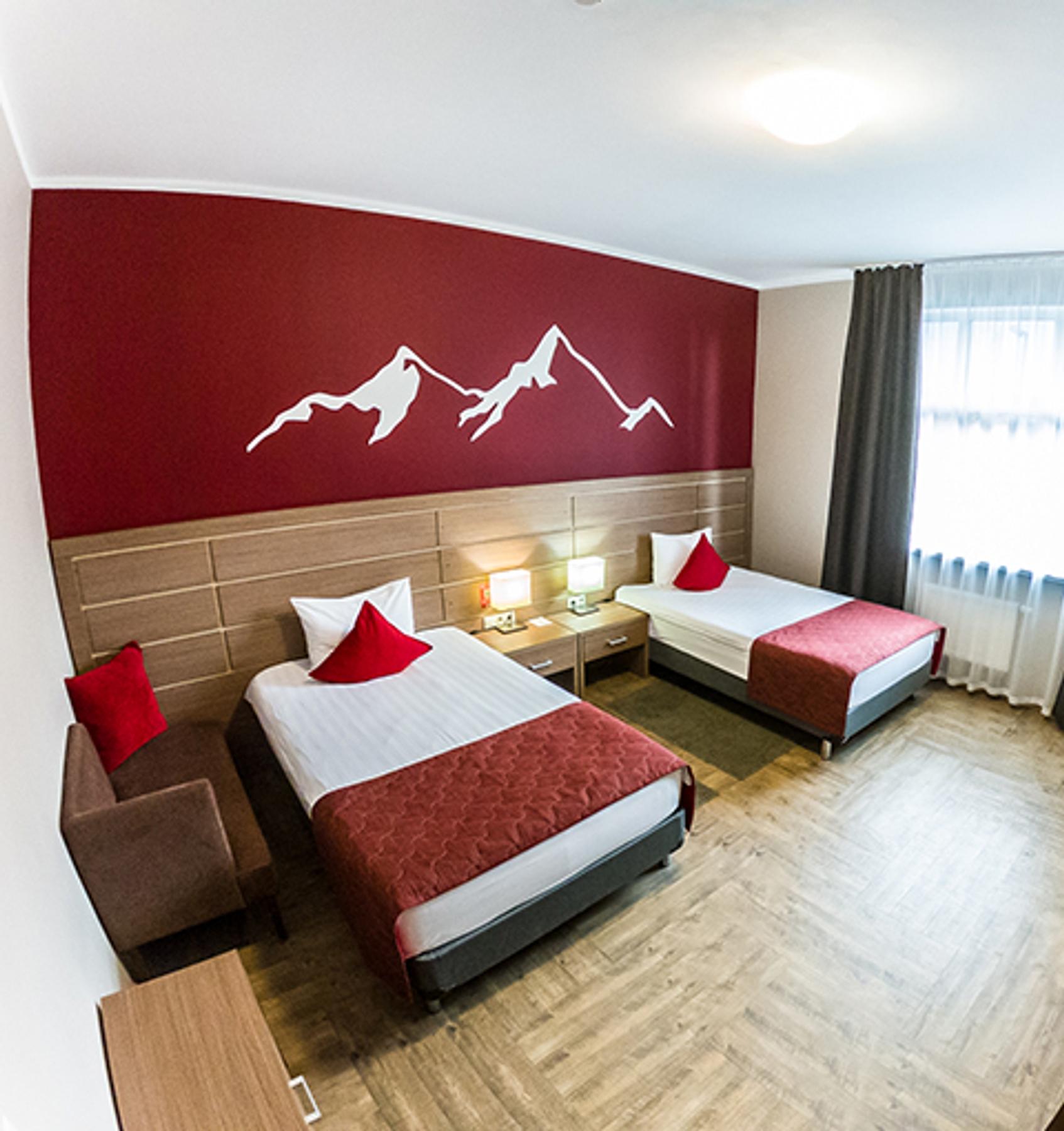 Где в России пожить в отеле в горах: Роза-Хутор