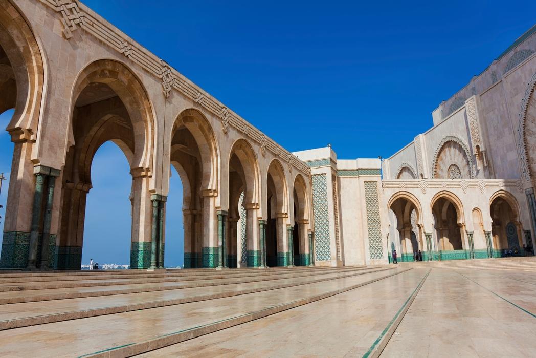 Το Τέμενος του Χασάν Β' στην Καζαμπλάνκα του Μαρόκου