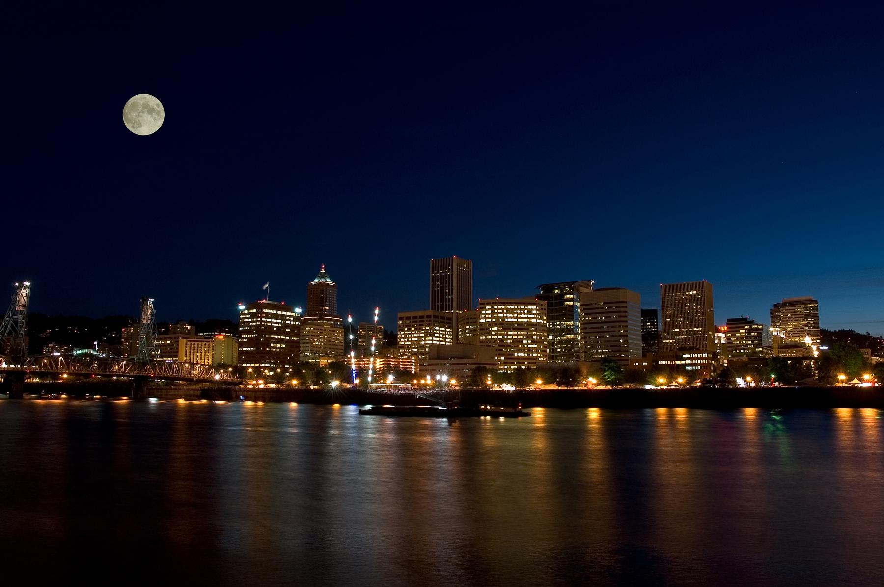 Portland, Oregon skysline