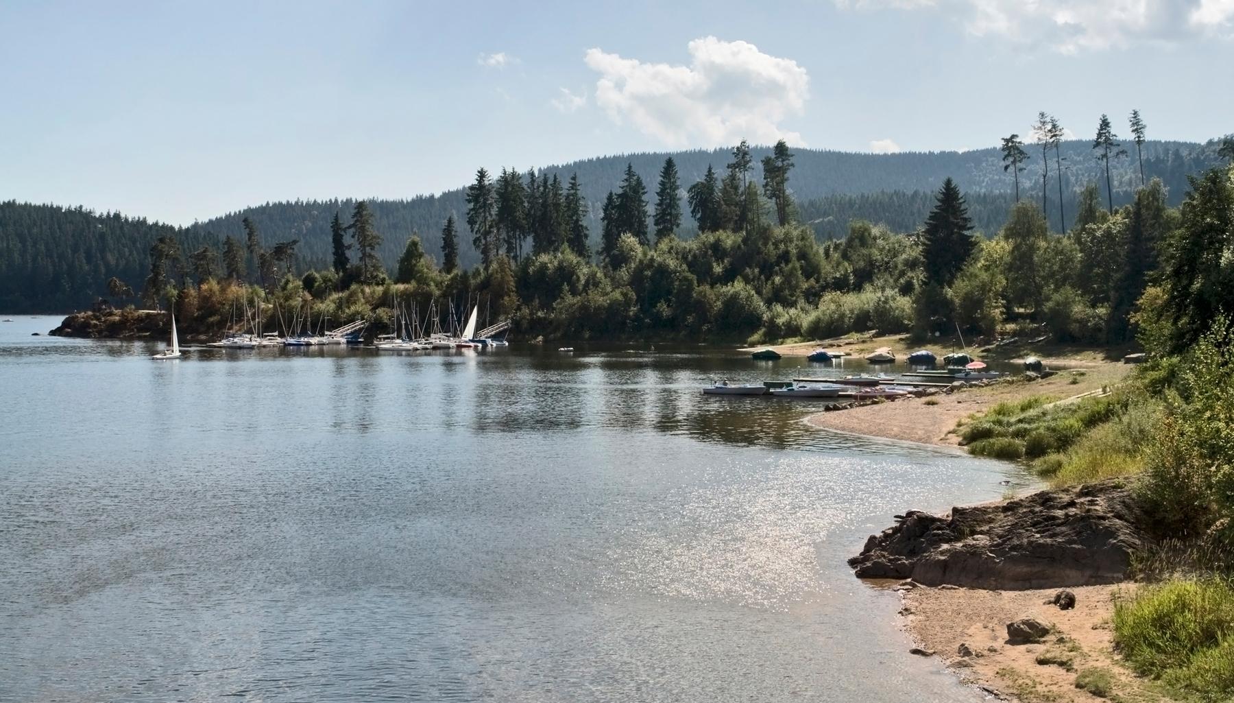 Seen und Badeseen in Deutschland: Schluchsee in Baden-Württemberg