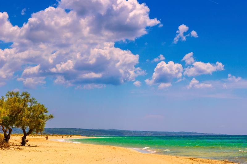 Pescoluse, spiaggia del Salento