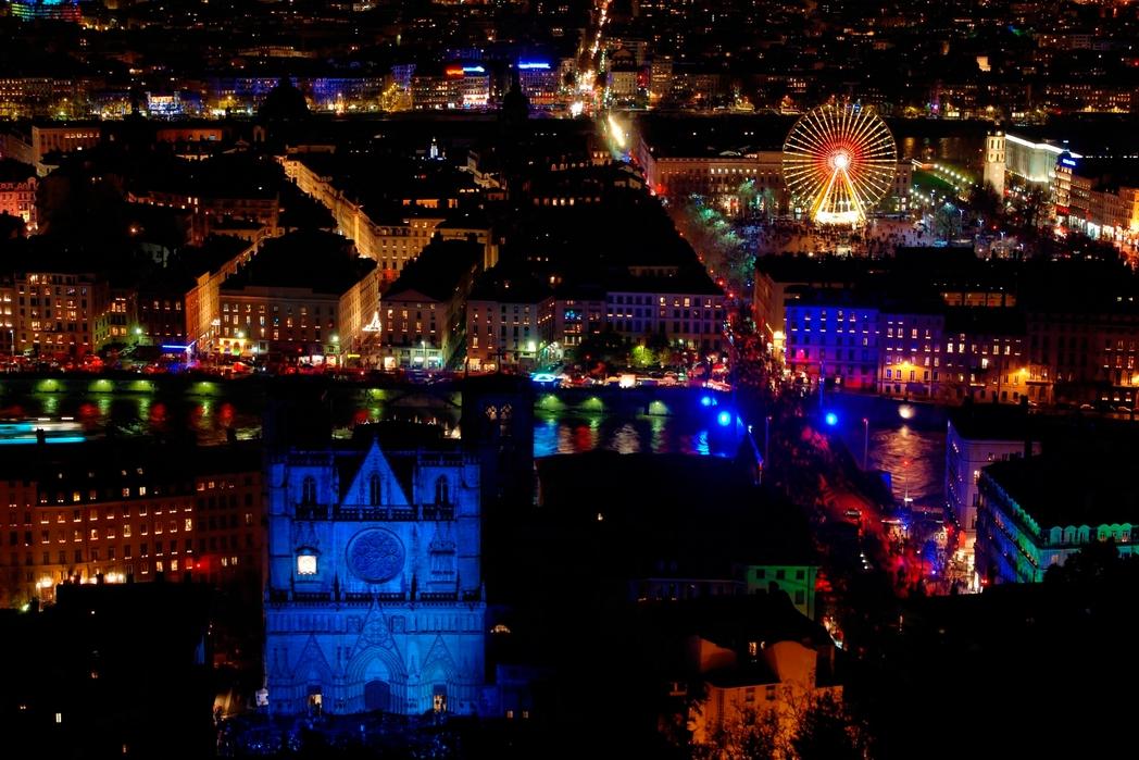 H πόλη της Λυών, Γαλλία, τη νύχτα - τα καλύτερα events για ένα ταξίδι τον Δεκέμβριο
