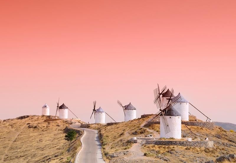 Mulini a vento in Castiglia-La Mancia