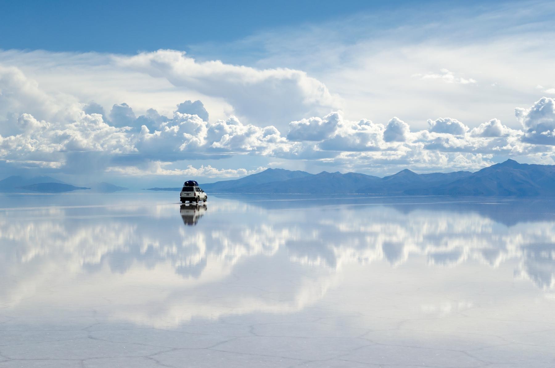 Salar de Uyuni na Bolívia, um dos lugares mais baratos para conhecer
