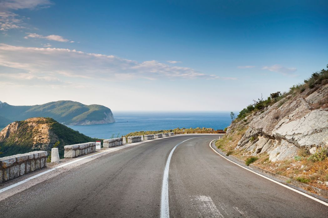 Οδηγώντας στο Μαυροβούνιο