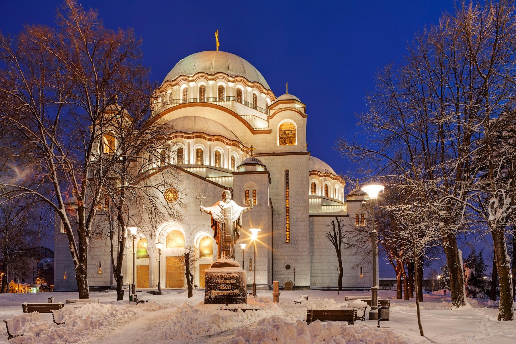 Куда слетать в январе. Белград. Сербия