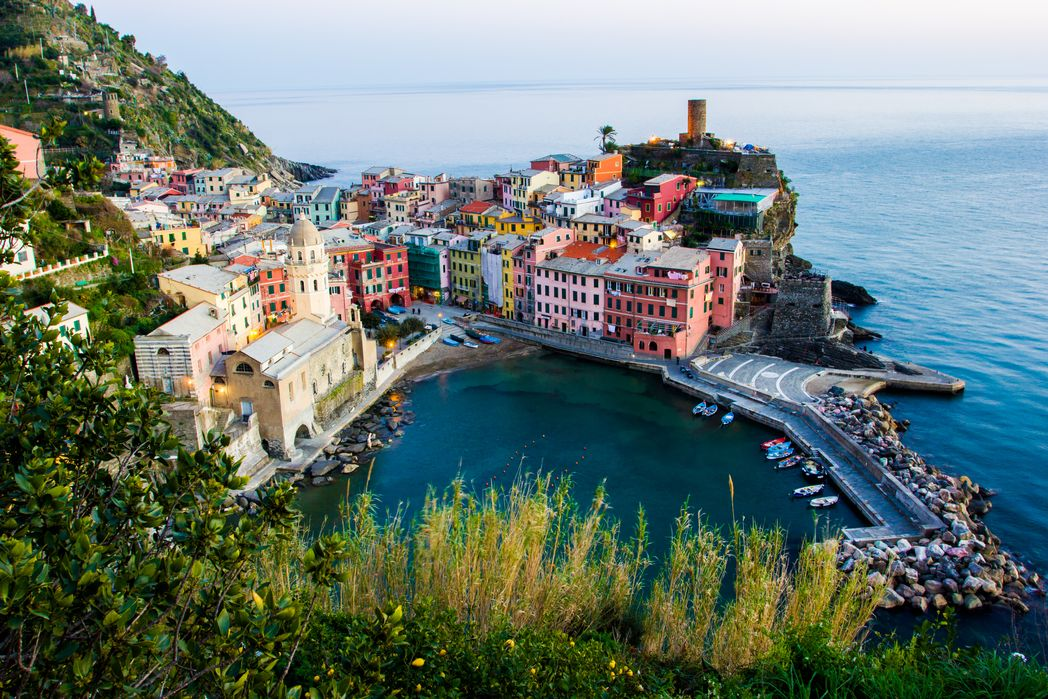 Manarola, in Cinque Terre, is one of the most rustic and quiet November hoilday destinations