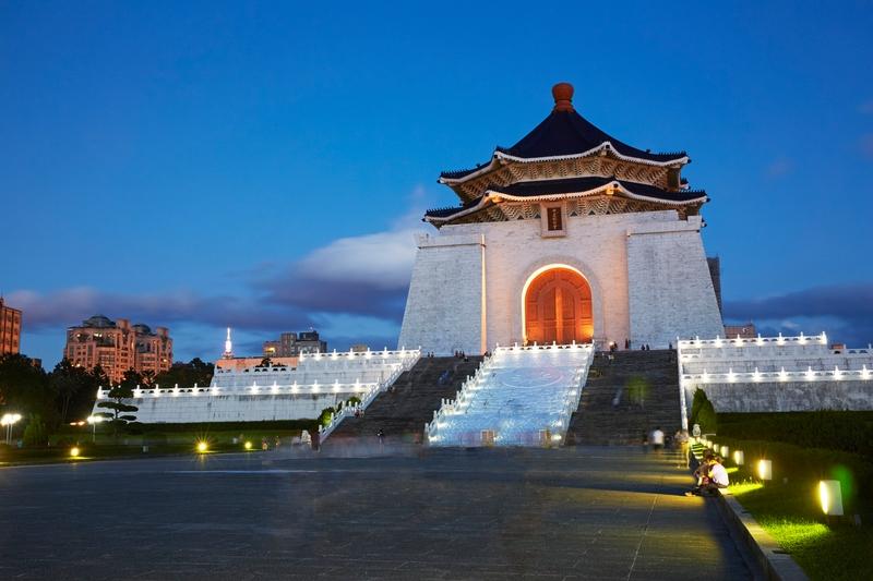memorial chiang kai shek en taipéi taiwán
