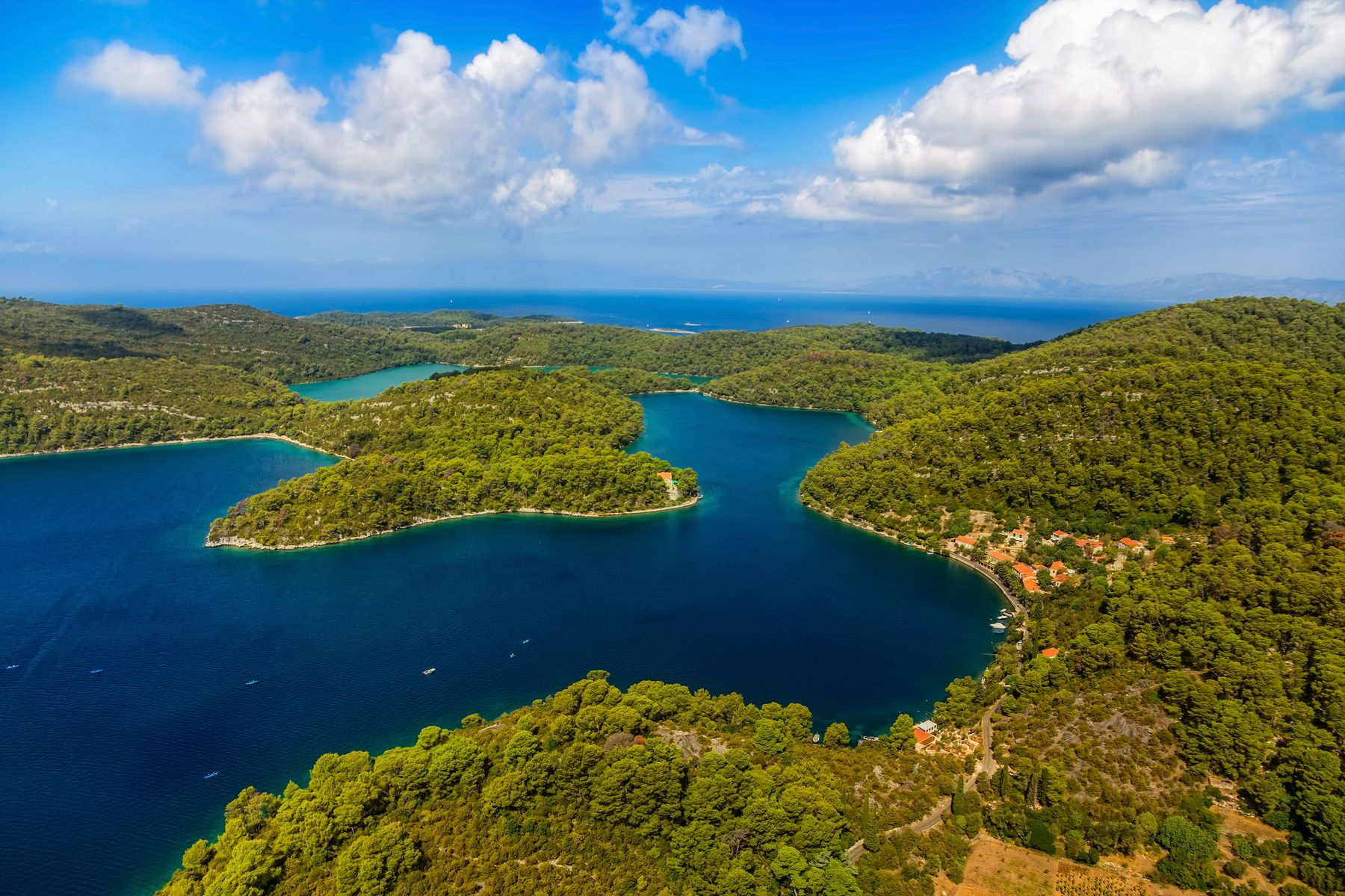 Lush nature around Dubrovnik make it ideal for a summer holiday
