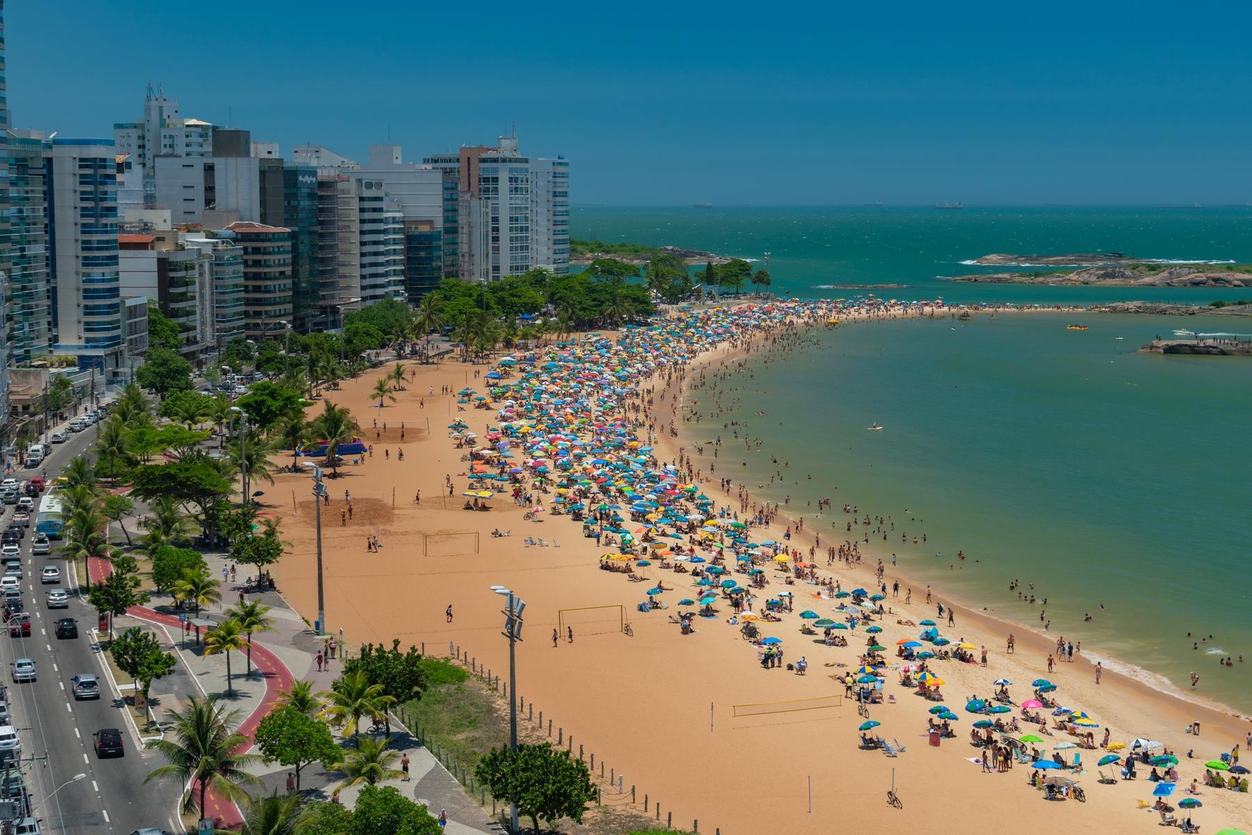 Vila Velha, no Espírito Santo, uma das cidades mais antigas do Brasil.