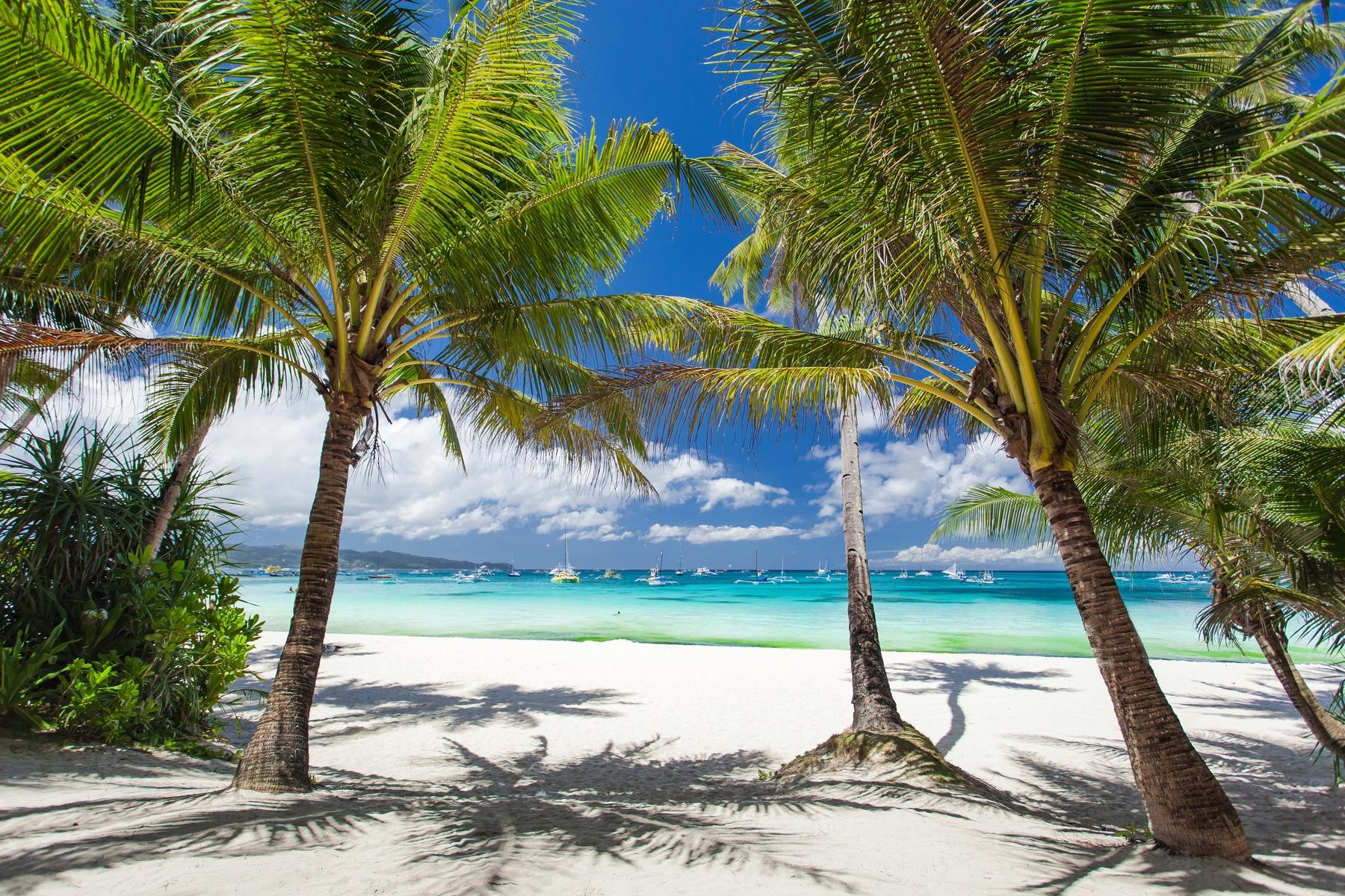 Praia em Cancun