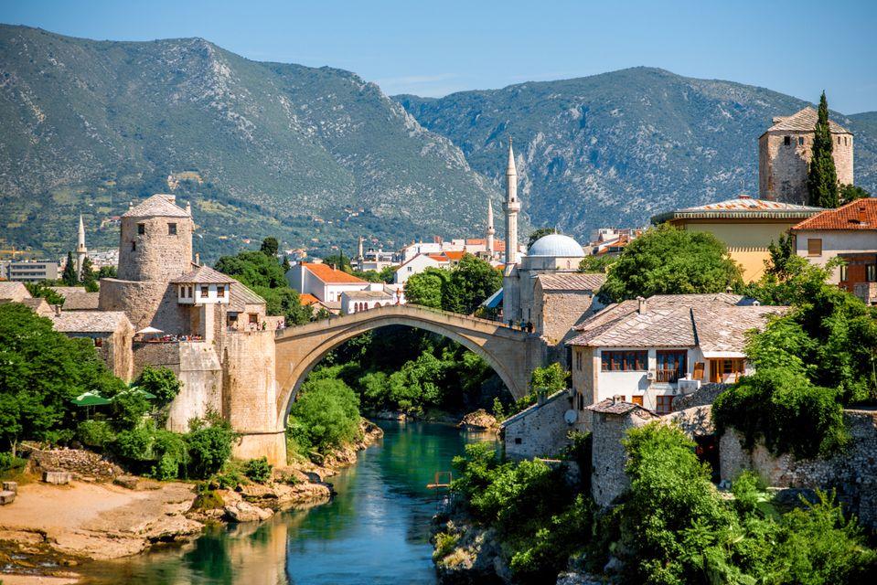 Город Мостар, Босния и Герцеговина