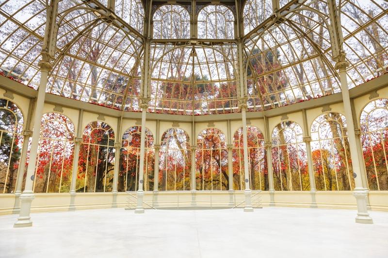 Palacio de Cristal i Madrid