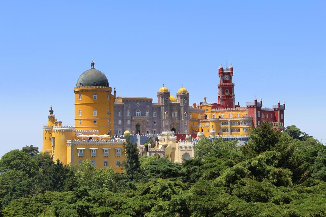 Sintra, Portogallo on the road