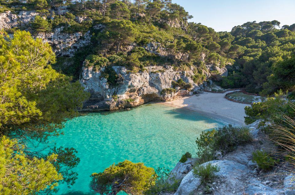 Cala Macarelleta, Menorca, Balearic Islands, Spain