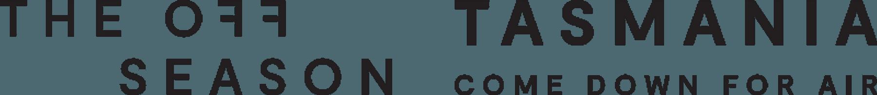 Tasmania Off Season Logo