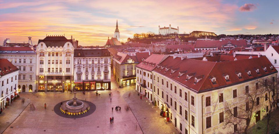 Veduta di Bratislava