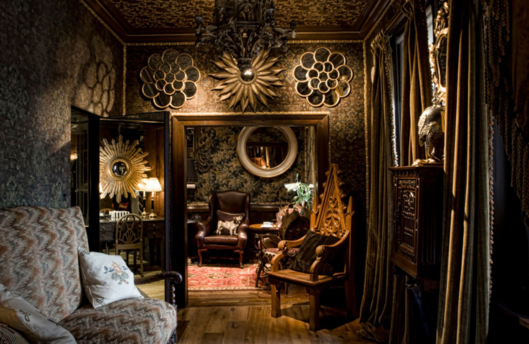 Edinburgh's sumptuous Witchery by the Castle is one of the UK's most unusual hotels