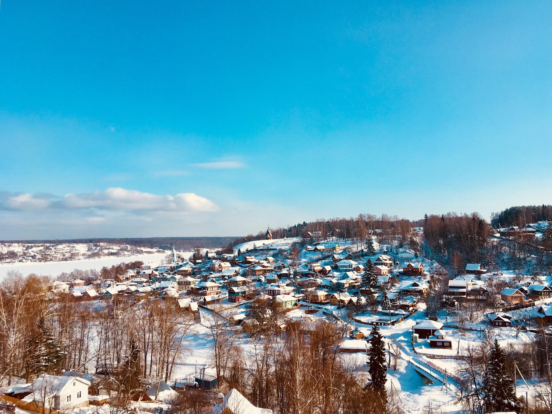 Где отдохнуть в России: зимний Плёс