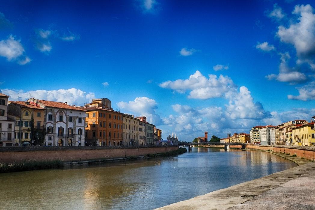 Cosa vedere a Pisa: Lungarni