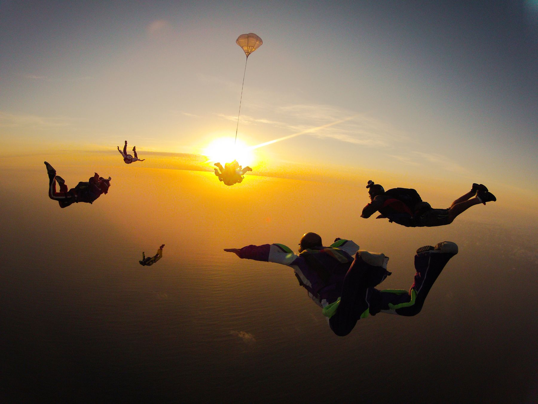 Erlebnisreisen in Neuseeland: Skydiving