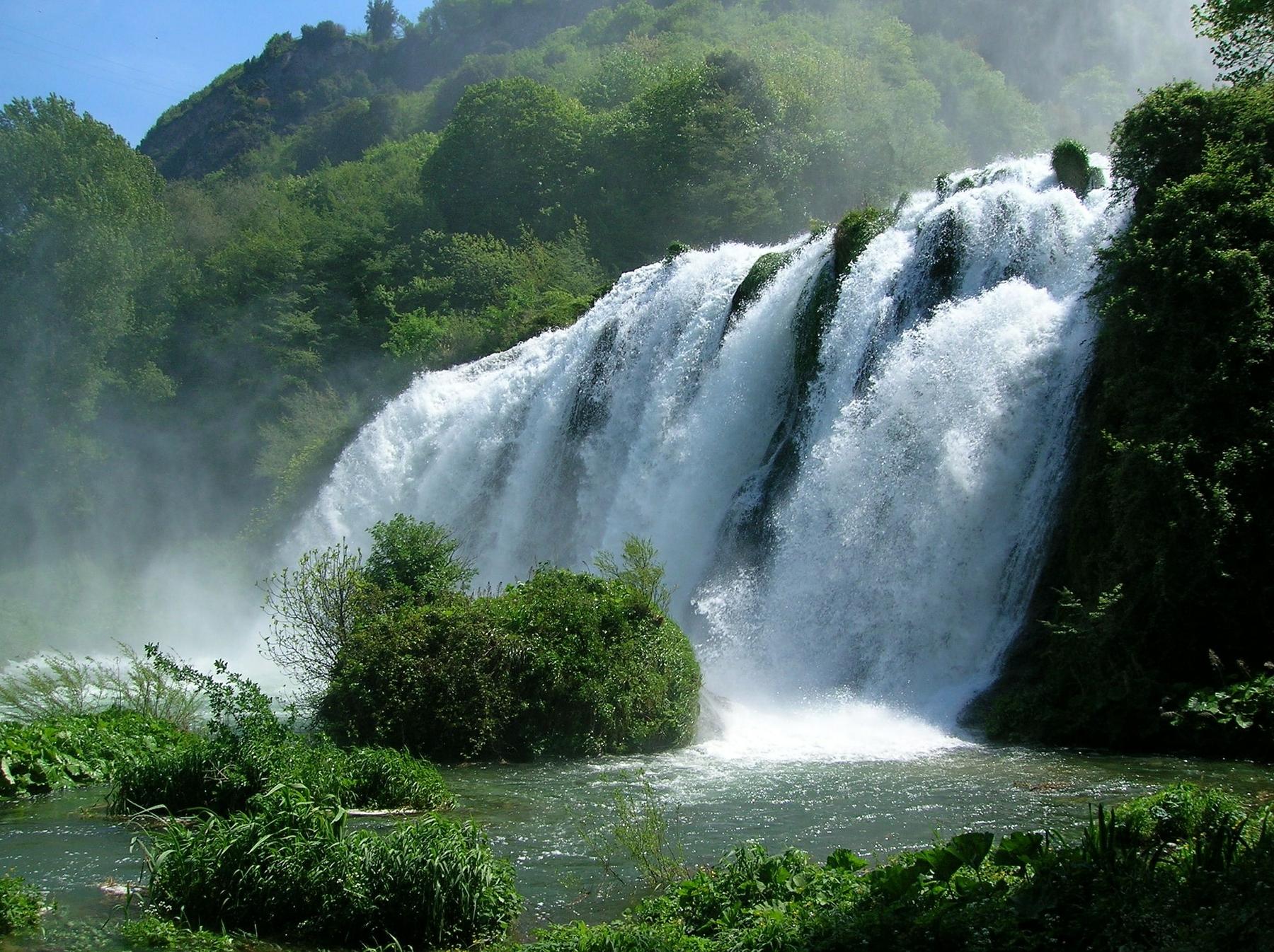 cascate belle in Italia