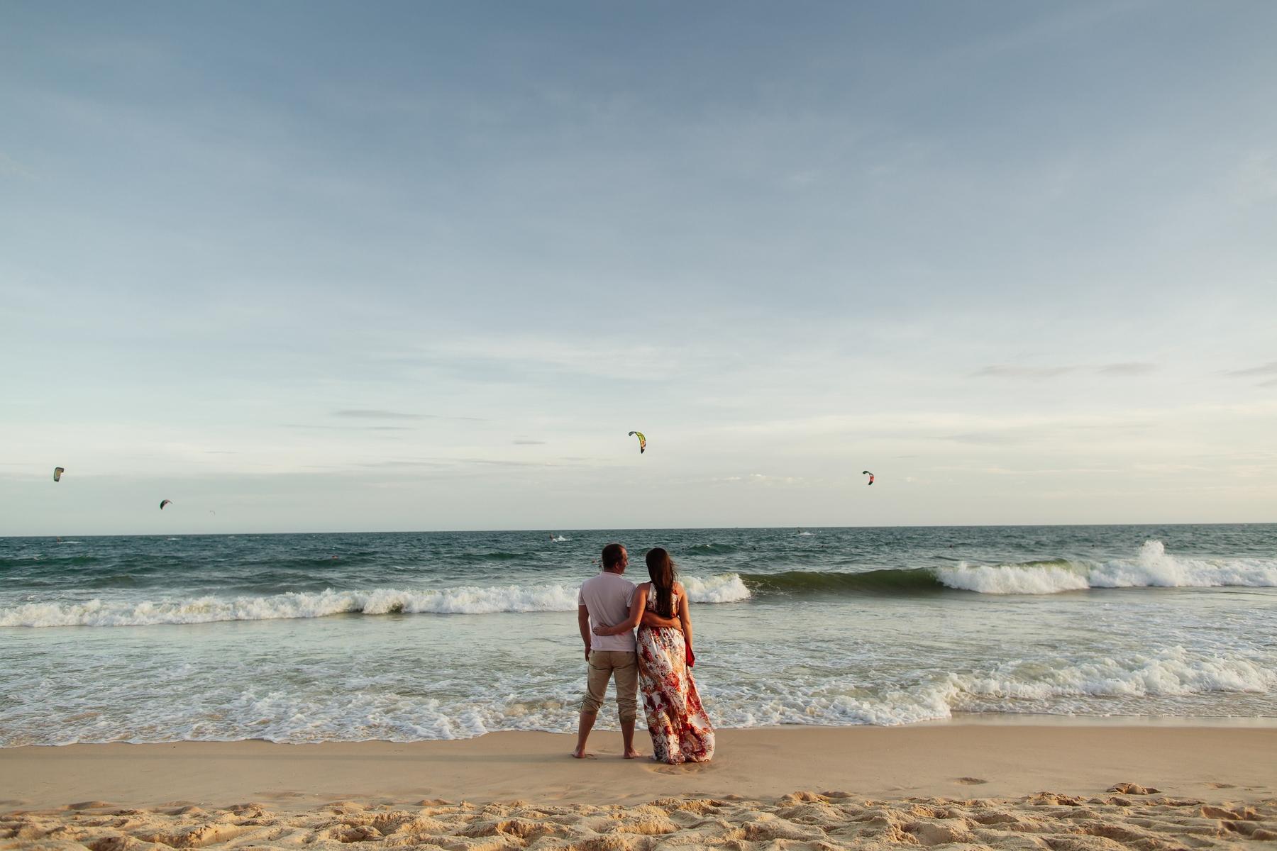 Romantische uitjes Nederland: uitwaaien aan zee
